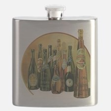 Vintage Imported Beer Flask