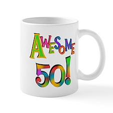 Awesome 50 Birthday Mug