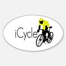 iCycle Oval Decal