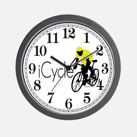 iCycle Wall Clock