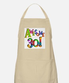 Awesome 30 Birthday Apron