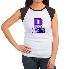 D is for Dimebag Women's Cap Sleeve T-Shirt