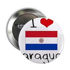 "I HEART PARAGUAY FLAG 2.25"" Button"