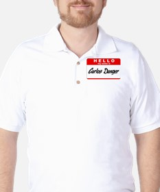 Carlos Danger Nametag T-Shirt