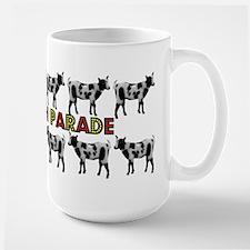 Goats on Parade Large Mug