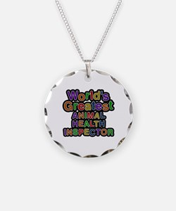 World's Greatest ANIMAL HEALTH INSPECTOR Necklace
