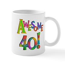 Awesome 40 Birthday Mug