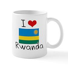 I HEART RWANDA FLAG Mug