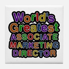World's Greatest ASSOCIATE MARKETING DIRECTOR Tile