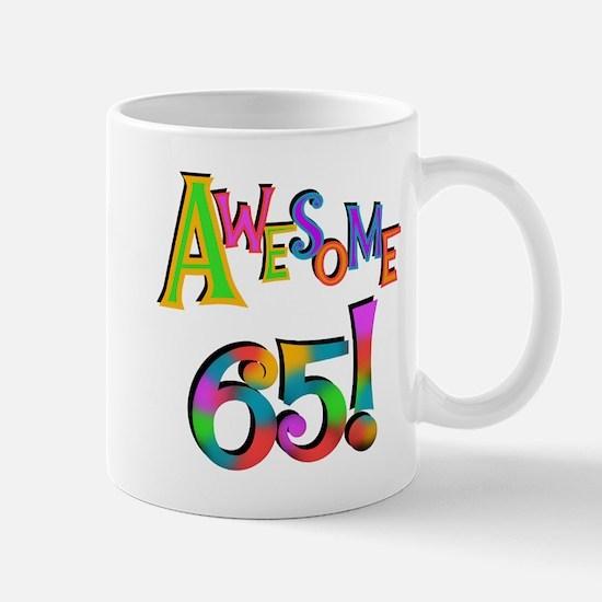 Awesome 65 Birthday Mug