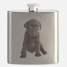 Labrador Puppy Flask
