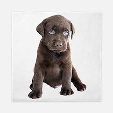 Labrador Puppy Queen Duvet