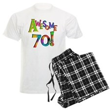Awesome 70 Birthday Pajamas