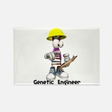 Funny Genetic Engineering Dna Strip Rectangle Magn