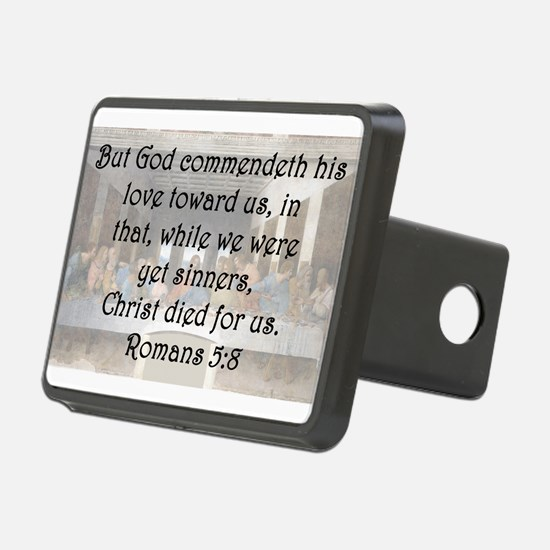 Romans 5:8 Hitch Cover