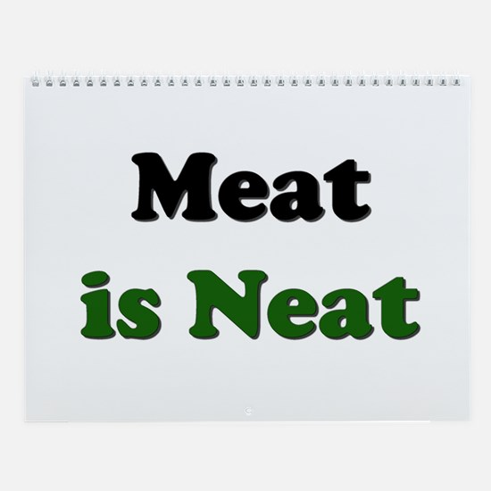 Meatatarian Wall Calendar