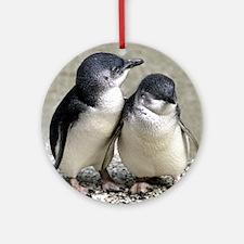 Penguin Buddies Ornament (Round)