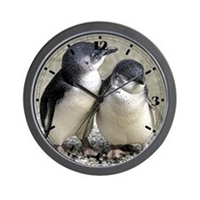 Penguin Buddies Wall Clock