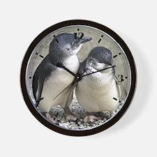 Penguin Buddies Wall Clock