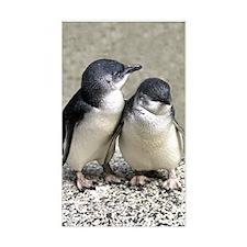 Penguin Buddies Rectangle Decal