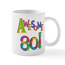 Awesome 80 Birthday Mug