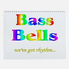 Bass Bells Wall Calendar