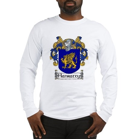 Hanratty Coat of Arms Long Sleeve T-Shirt