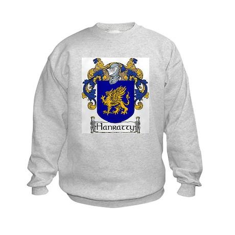 Hanratty Coat of Arms Kids Sweatshirt