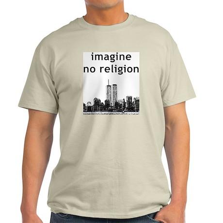 Imagine No Religion Ash Grey T-Shirt