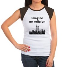 Imagine No Religion Women's Cap Sleeve T-Shirt