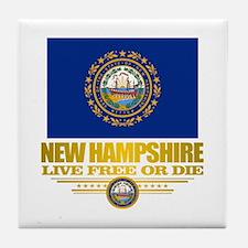 New Hampshire Pride Tile Coaster