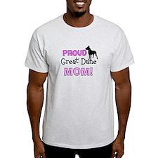 proud great dane mom 2 T-Shirt