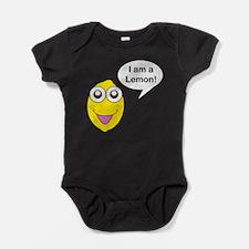 Happy Lemon Baby Bodysuit