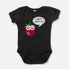 Happy Raspberry Baby Bodysuit