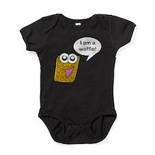 Happy Waffle Baby Bodysuit