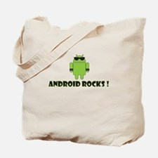 Android Rocks Tote Bag