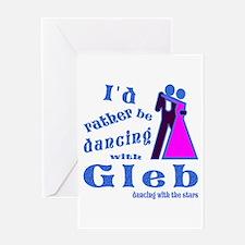 Dancing With Gleb Greeting Card