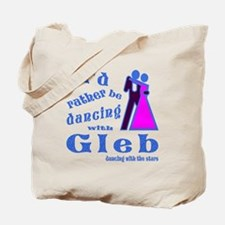 Dancing With Gleb Tote Bag