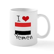 I HEART YEMEN FLAG Mug