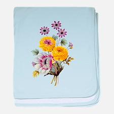 Redoute Bouquet baby blanket