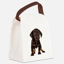 Dachshund Puppy Canvas Lunch Bag