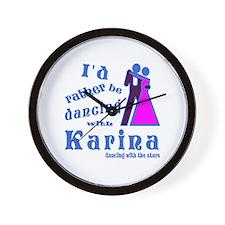 Dancing With Karina Wall Clock