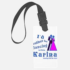 Dancing With Karina Luggage Tag