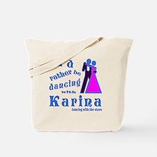 Dancing With Karina Tote Bag