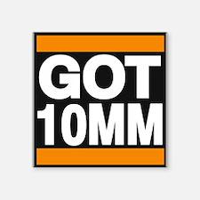 got 10mm orange Sticker