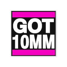 got 10mm pink Sticker