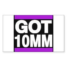 got 10mm purple Decal