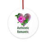 Authentic Romantic Ornament (Round)