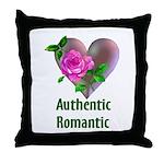Authentic Romantic Throw Pillow