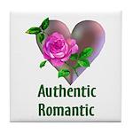 Authentic Romantic Tile Coaster